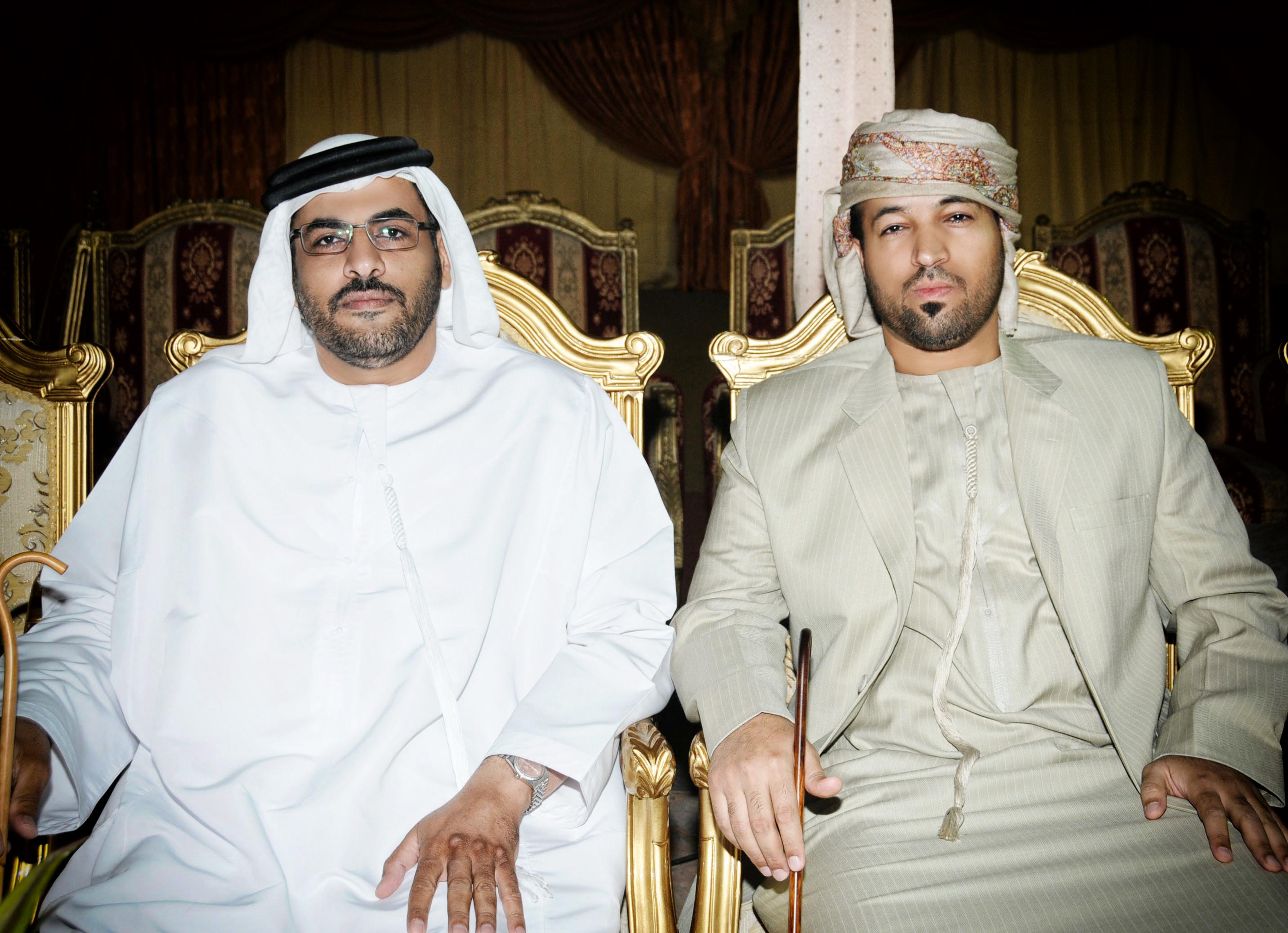 الشاعر سيف محمد والشاعر صالح الذيب